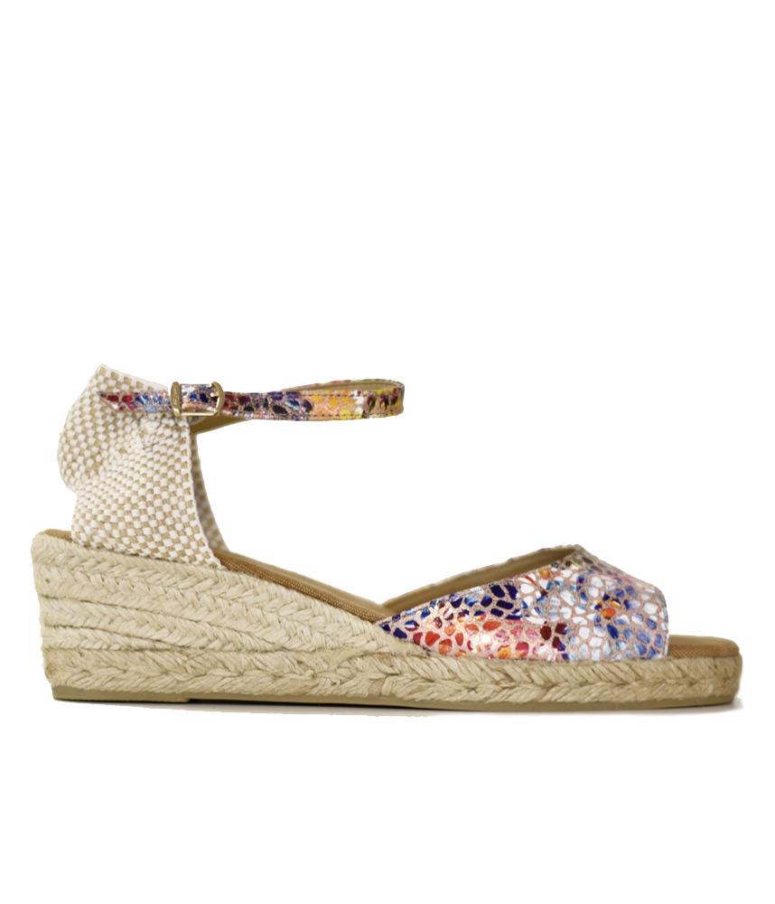 7df966e684 Stylish Colourful Toni Pons Open Toe Sandal – Cinderella Shoes