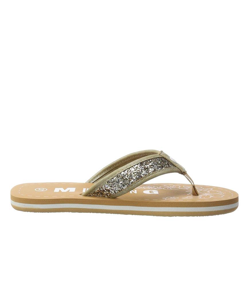 907a5bde92bf Mustang Gold Sparkle Flip Flop Sandals – Cinderella Shoes