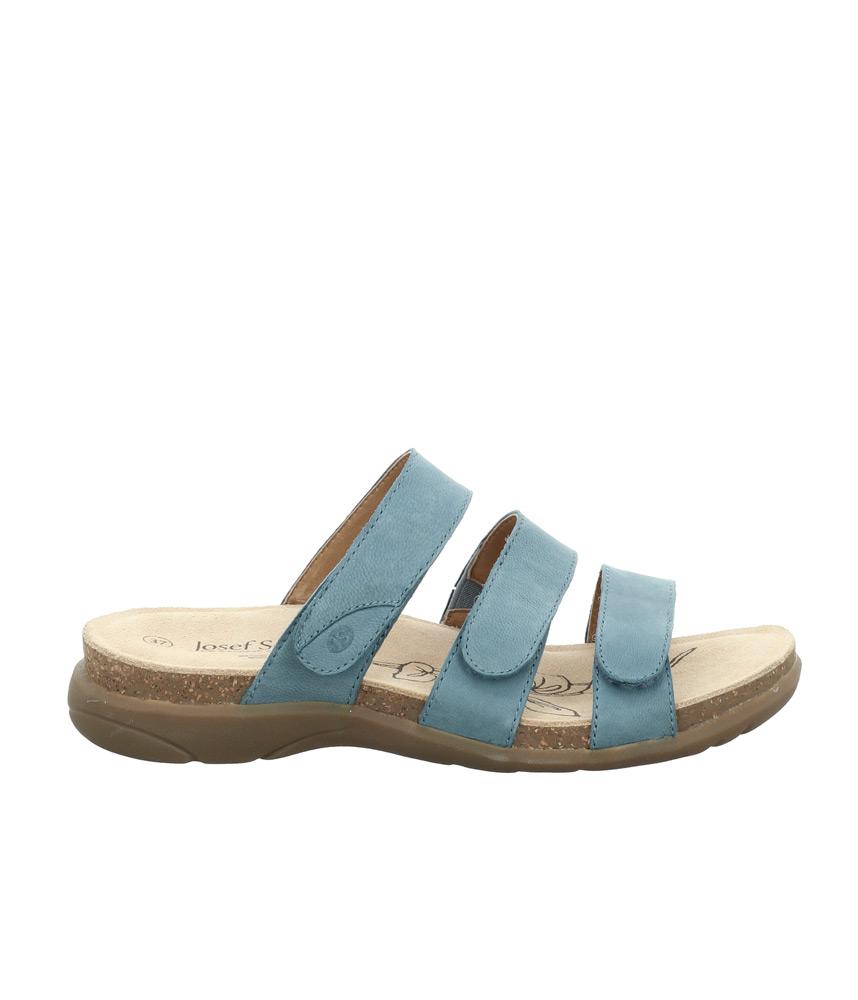 Josef Seibel Wide Fit Blue Slip on